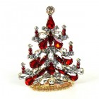 Xmas Tree Standing Decoration 2020 #03 ~ Clear Red