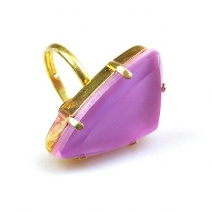 Delta Triangular Ring ~ Lilac