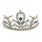 Majesty Tiara ~ Clear Crystal