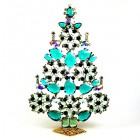 2019 Xmas Tree Stand-up Decoration 22cm ~ Emerald Green