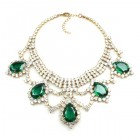 Mystery Necklace ~ Crystal Emerald