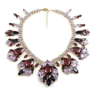 Fancy Essence Necklace ~ Purple Violet