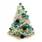 Xmas Tree Brooch #11 ~ #04