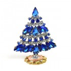 Xmas Tree Standing Decoration 2020 #18 ~ Blue