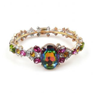 Fondness Bangle Bracelet ~ Vitral Multicolor