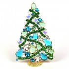 2020 Zig-Zag Xmas Tree Stand-up Decoration 16cm ~ #1