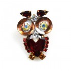 Owl Small ~ Red