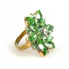 Sensual Aspiration Ring ~ Green