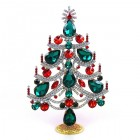 Xmas Tree Standing Decoration 2020 #02 ~ Emerald Red Clear