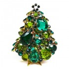 3 Dimensional Medium Xmas Tree Decoration ~ Green Tones