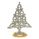 Xmas Tree Standing Decoration 2019 #10 Clear Crystal