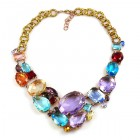Razzle Dazzle Necklace ~ Pale Tones