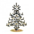 Xmas Tree Standing Decoration 2020 #20 ~ Clear Rivoli Clear