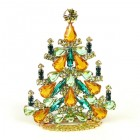 Xmas Tree Standing Decoration 2020 #03 ~ Emerald Topaz