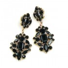 Fatal Passion Earrings Pierced ~ Black
