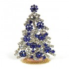 Xmas Tree Standing Decoration 2020 #08 Clear Blue