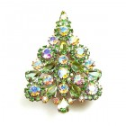 Xmas Tree Brooch #07 (1)