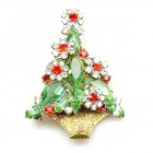 Christmas Flower Pin ~ #3