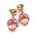 Constance Earrings Pierced ~ Rose