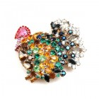 Turkey Brooch Classic ~ Medium