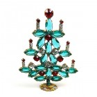 Xmas Tree Standing Decoration 2018 #15 ~ Emerald Red