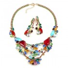 Isabelle Multicolor Jewelry Set ~ Red and Colors