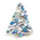 Xmas Tree Brooch #11 ~ #06