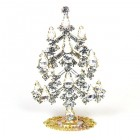 Xmas Tree Standing Decoration 2018 #05 Clear Crystal