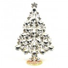 2020 Xmas Tree Stand-up Decoration 15cm ~ Clear Crystal