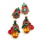 Parisienne Bloom Earrings Pierced ~ Summer