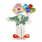 Clown with Balloons ~ Pin #2