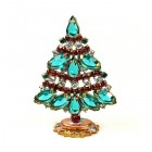 Xmas Tree Standing Decoration 2019 #18 ~ Emerald Red