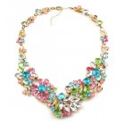 Power of Flowers ~ Necklace ~ Pastel Colors