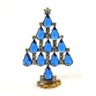 Xmas Tree Standing Decoration 2018 #17 ~ Blue