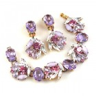 Close to Heaven Bracelet with Earrings ~ Violet