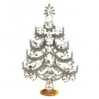Xmas Tree Standing Decoration 2020 #02 ~ Clear Crystal