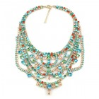 Crazy Meadow Necklace ~ Multicolor