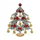 Decoration Xmas Tree with Dangling Rondelles #2 ~ (01)