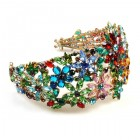 True Love ~ Great Headband Tiara ~ Multicolor Extra Big #1