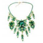 Andromeda Necklace ~ Emerald Green