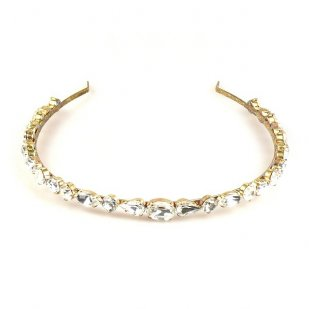 Clear Crystal Headband
