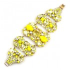 One More Time Bracelet ~ Yellow Sunshine