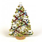 2020 Zig-Zag Xmas Tree Stand-up Decoration 12cm ~ #1