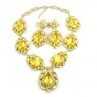 Sonatine Set with Earrings ~ Yellow Jonquil