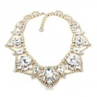 Roxanne Necklace ~ Clear Crystal