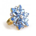 Sensual Aspiration Ring ~ Saphphire Blue