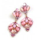 Sweetness Earrings Pierced ~ Pink
