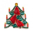 Picasso Tree Brooch