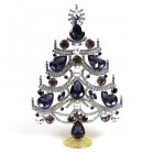 Xmas Tree Standing Decoration 2020 #02 ~ Purple Amethyst