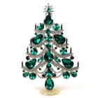 Xmas Tree Standing Decoration 2020 #02 ~ Emerald Clear